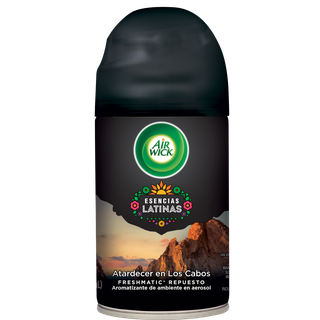 AIR WICK® FRESHMATIC® ESENCIAS LATINAS ATARDECER EN LOS CABOS REPUESTO 250 ML