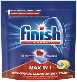 Finish® Max in 1™ Lemon SparkleTM