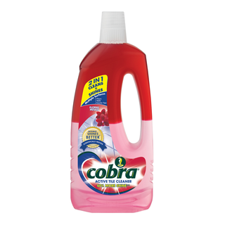 COBRA ACTIVE TILE CLEANER FLORAL PETALS 750ml