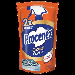 Limpiador Líquido Cocina Repuesto Procenex 420 ml