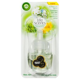 AIR WICK LIFE SCENTS SCENTED OIL PLUG IN REFILL GARDEN ESCAPE