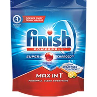 Finish Max-in-1 Ultra-degreaser with Lemon Scent