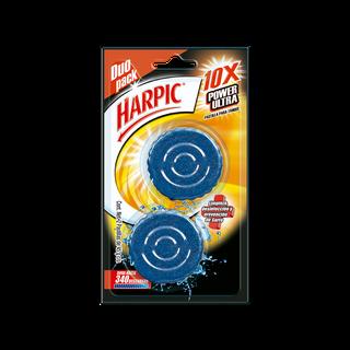 Harpic® 10 x Power Ultra® Limpiador de Inodoros Pastilla para Tanque, 2pzas