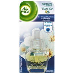 Air Wick Recharge Diffuseur Electrique Fleur d'oranger & Nuit Etoilée ¹