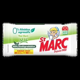 Lingettes Biodégradables 0% Résidus Agressifs Thé Vert ¹ ²