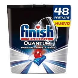 Finish Quantum Ultimate Detergente para Lavavajillas