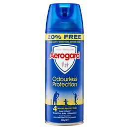 Aerogard Odourless Protection 300g