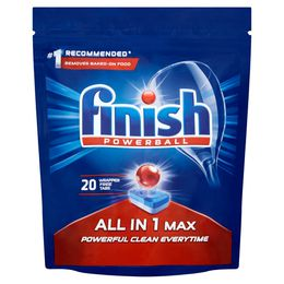 FINISH All in 1 Max Dishwasher Tabs Regular