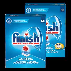 Finish Classic  gel za  strojno pranje posuda