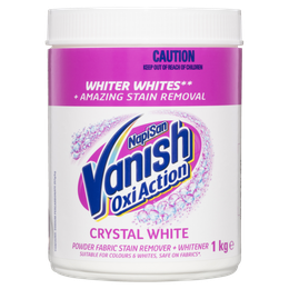 Vanish NapiSan OxiAction Crystal White Powder