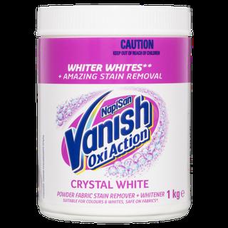 Vanish NapiSan OxiAction Crystal White Powder
