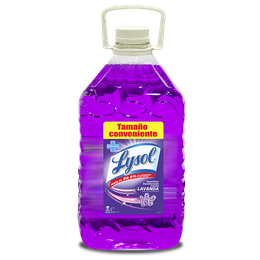 Lysol Superficies Desinfectante Lavanda 5 Lts