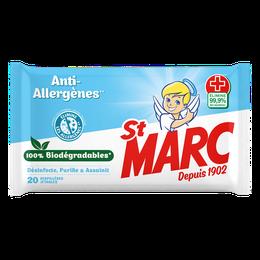Serpillières Biodégradables Anti-Allergènes ¹ ²