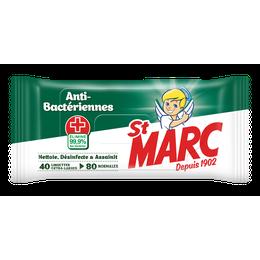 St Marc Lingettes Anti-Bactériennes¹ ²
