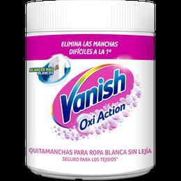 Vanish Oxi Action para ropa blanca blanqueador y quitamanchas