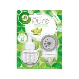Air Wick Air Freshener Honeydew And Cucumber Plug In Kit 19ml