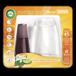 Air Wick® Essential Mist® Aparato y Repuesto Flor de Naranjo Energizante 20 mL