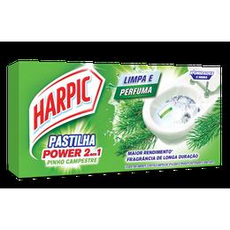 Harpic Pastilha Adesiva 2 em 1 Pinho - 3x9g cada