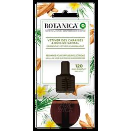 Botanica Recharge electrique Vétiver des Caraïbes & Bois de Santal