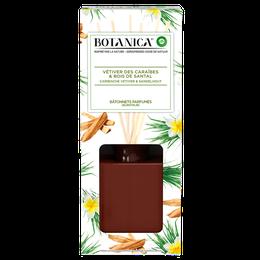 Botanica Bâtonnets Parfumés Vétiver des Caraïbes & Bois de Santal
