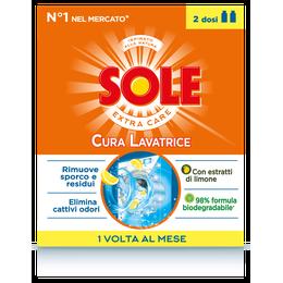 SOLE CURA LAVATRICE FRESCHEZZA LIMONE 250 ml x 2
