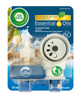 Air Wick Essential Oils Plug In Turquoise Oasis Prime