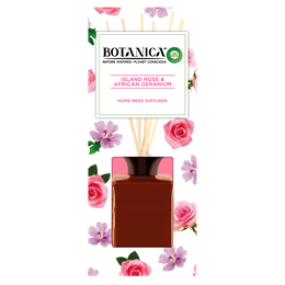 Botanica by Air Wick Reeds Island Rose & African Geranium 80ml