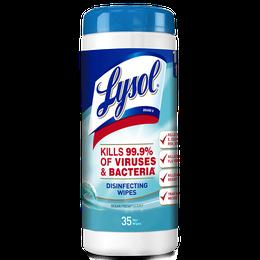Lysol Toallitas Desinfectantes Ocean Fresh