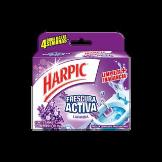 Harpic® CANASTILLA FRESCURA ACTIVA LAVANDA, 35gr