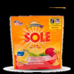 SOLE CAPS 3 AZIONI PROTEGGI COLORE 15caps