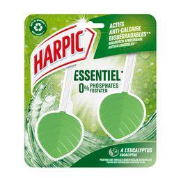 Harpic Bloc Cuvette Galet Essentiel Eucalyptus (1)