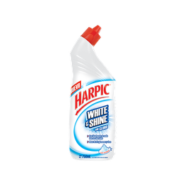 Harpic® WHITE & SHINE CON CLORO, 750 mL