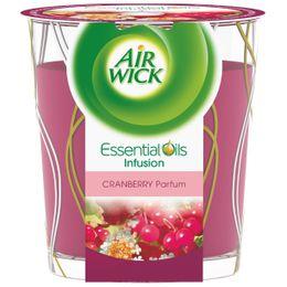 Bougie Décorée Huiles Essentielles Cranberry