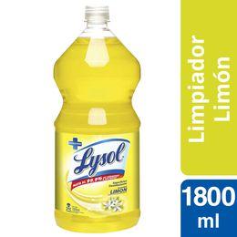 Lysol Superfices Desinfectante Limón 1800 ml