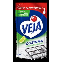 VEJA COZINHA DESENGORDURANTE LIMÃO SACHE 400ML