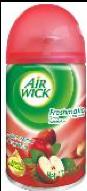 Aromatizante de ambiente automático Air Wick Freshmatic Manzana & Canela 1 repuesto 250 mL