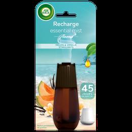 Air Wick Recharge Essential Mist Melon et Vanille stimulants  ¹