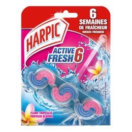 Harpic Bloc Cuvette Active Fresh Fleurs Tropicales