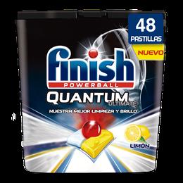 Finish Quantum Ultimate Detergente para Lavavajillas Limón