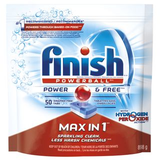 Finish® Max in 1™ Power&Free™