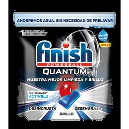 Finish Quantum Ultimate Detergente para Lavavajillas Regular