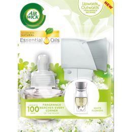 Elektrický osvěžovač vzduchu - strojek a náplň - Bílé květy