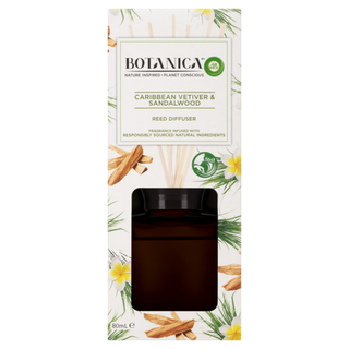 Botanica by Air Wick Reed Caribbean Vetiver & Sandalwood 80mL