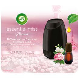Starterset Diffuser Van Parfums Met Essentiële Oliën Kalmerende Sterjasmin en Pioen