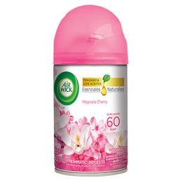NUEVO AIR WICK® FRESHMATIC® ETHANOL MAGNOLIA CHERRY  REPUESTO 250ML