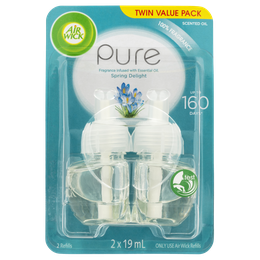 Air Wick Pure Plug In Spring Delight Twin Refill