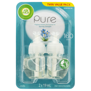 Air Wick Pure Plug In Spring Delight Twin Refill