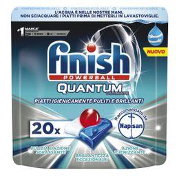 Finish Quantum Ultimate raccomandato da Napisan 20