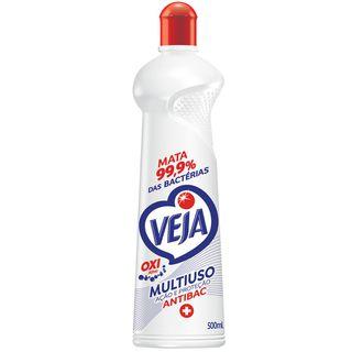 Veja Multiuso Ação e Proteção Antibac Squeeze 500ml