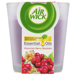 Air Wick Essential Oils Candle Mountain Berry